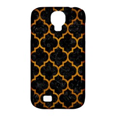 Tile1 Black Marble & Yellow Grunge (r) Samsung Galaxy S4 Classic Hardshell Case (pc+silicone) by trendistuff