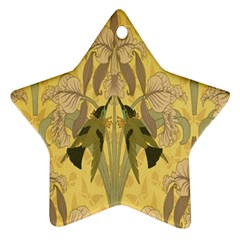 Art Nouveau Star Ornament (two Sides) by 8fugoso