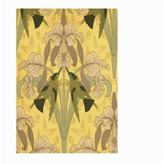 Art Nouveau Large Garden Flag (two Sides) by 8fugoso
