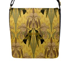 Art Nouveau Flap Messenger Bag (l)  by 8fugoso