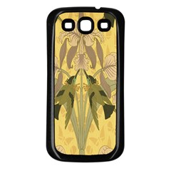 Art Nouveau Samsung Galaxy S3 Back Case (black) by 8fugoso