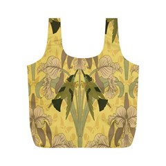 Art Nouveau Full Print Recycle Bags (m)  by 8fugoso