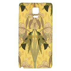 Art Nouveau Galaxy Note 4 Back Case by 8fugoso