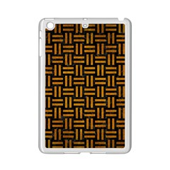 Woven1 Black Marble & Yellow Grunge (r) Ipad Mini 2 Enamel Coated Cases by trendistuff