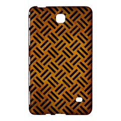 Woven2 Black Marble & Yellow Grunge Samsung Galaxy Tab 4 (7 ) Hardshell Case  by trendistuff