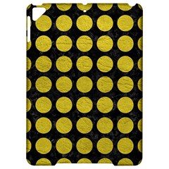 Circles1 Black Marble & Yellow Leather (r) Apple Ipad Pro 9 7   Hardshell Case by trendistuff