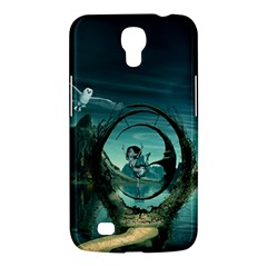 Cute Fairy Dancing On The Moon Samsung Galaxy Mega 6 3  I9200 Hardshell Case by FantasyWorld7