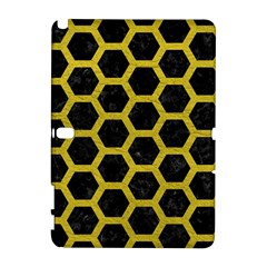 HEXAGON2 BLACK MARBLE & YELLOW LEATHER (R) Galaxy Note 1