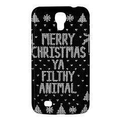 Ugly Christmas Sweater Samsung Galaxy Mega 6 3  I9200 Hardshell Case by Valentinaart