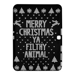 Ugly Christmas Sweater Samsung Galaxy Tab 4 (10 1 ) Hardshell Case  by Valentinaart