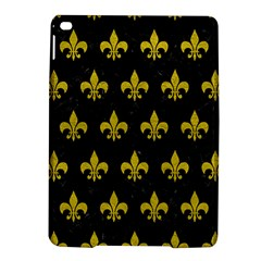Royal1 Black Marble & Yellow Leather Ipad Air 2 Hardshell Cases by trendistuff