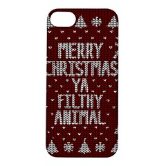 Ugly Christmas Sweater Apple Iphone 5s/ Se Hardshell Case