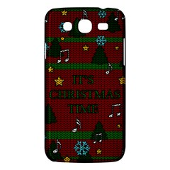 Ugly Christmas Sweater Samsung Galaxy Mega 5 8 I9152 Hardshell Case  by Valentinaart