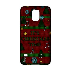 Ugly Christmas Sweater Samsung Galaxy S5 Hardshell Case  by Valentinaart