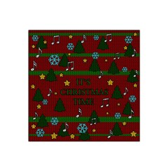 Ugly Christmas Sweater Satin Bandana Scarf by Valentinaart