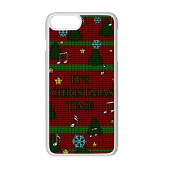 Ugly Christmas Sweater Apple Iphone 7 Plus Seamless Case (white) by Valentinaart