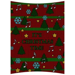 Ugly Christmas Sweater Back Support Cushion by Valentinaart