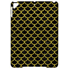 Scales1 Black Marble & Yellow Leather (r) Apple Ipad Pro 9 7   Hardshell Case by trendistuff
