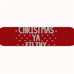 Ugly Christmas Sweater Large Bar Mats by Valentinaart