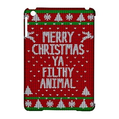 Ugly Christmas Sweater Apple Ipad Mini Hardshell Case (compatible With Smart Cover) by Valentinaart