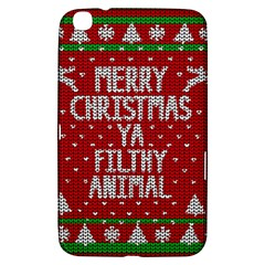 Ugly Christmas Sweater Samsung Galaxy Tab 3 (8 ) T3100 Hardshell Case  by Valentinaart