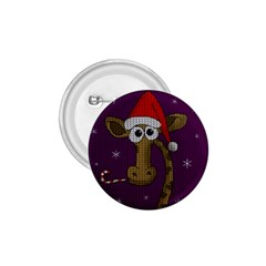Christmas Giraffe  1 75  Buttons