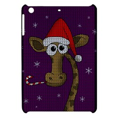 Christmas Giraffe  Apple Ipad Mini Hardshell Case