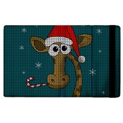 Christmas Giraffe  Apple Ipad 2 Flip Case