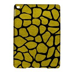 Skin1 Black Marble & Yellow Leather (r) Ipad Air 2 Hardshell Cases by trendistuff