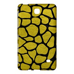 Skin1 Black Marble & Yellow Leather (r) Samsung Galaxy Tab 4 (7 ) Hardshell Case  by trendistuff