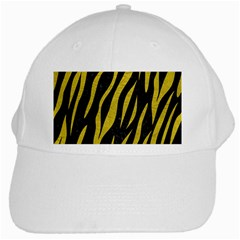 Skin3 Black Marble & Yellow Leather (r) White Cap by trendistuff