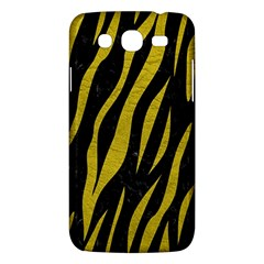 Skin3 Black Marble & Yellow Leather (r) Samsung Galaxy Mega 5 8 I9152 Hardshell Case  by trendistuff