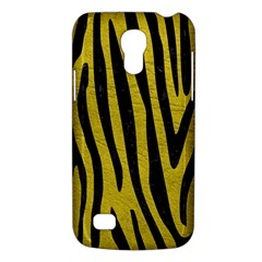 Skin4 Black Marble & Yellow Leather (r) Galaxy S4 Mini by trendistuff