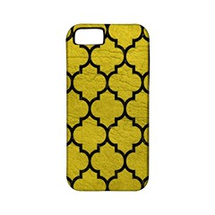 Tile1 Black Marble & Yellow Leather Apple Iphone 5 Classic Hardshell Case (pc+silicone) by trendistuff