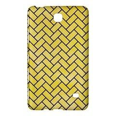 Brick2 Black Marble & Yellow Watercolor Samsung Galaxy Tab 4 (8 ) Hardshell Case  by trendistuff