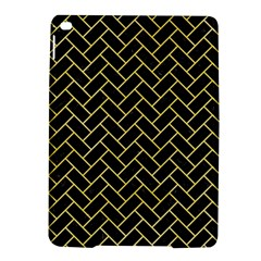 Brick2 Black Marble & Yellow Watercolor (r) Ipad Air 2 Hardshell Cases by trendistuff