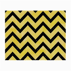 Chevron9 Black Marble & Yellow Watercolor Small Glasses Cloth by trendistuff