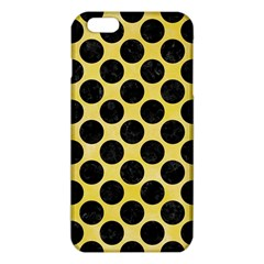 Circles2 Black Marble & Yellow Watercolor Iphone 6 Plus/6s Plus Tpu Case by trendistuff