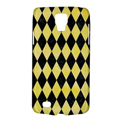 Diamond1 Black Marble & Yellow Watercolor Galaxy S4 Active by trendistuff