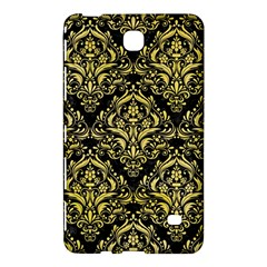 Damask1 Black Marble & Yellow Watercolor (r) Samsung Galaxy Tab 4 (7 ) Hardshell Case  by trendistuff