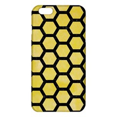 Hexagon2 Black Marble & Yellow Watercolor Iphone 6 Plus/6s Plus Tpu Case by trendistuff