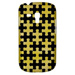 Puzzle1 Black Marble & Yellow Watercolor Galaxy S3 Mini by trendistuff