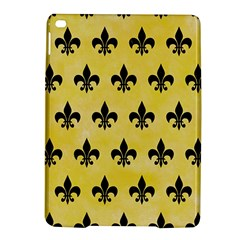 Royal1 Black Marble & Yellow Watercolor (r) Ipad Air 2 Hardshell Cases by trendistuff