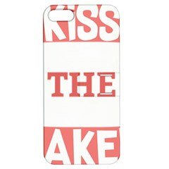 Kiss The Baker Apple Iphone 5 Hardshell Case With Stand