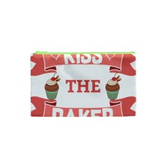 Kiss The Baker Cosmetic Bag (xs) by BakersandArtists