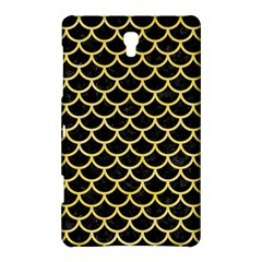 Scales1 Black Marble & Yellow Watercolor (r) Samsung Galaxy Tab S (8 4 ) Hardshell Case  by trendistuff