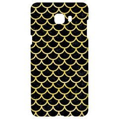Scales1 Black Marble & Yellow Watercolor (r) Samsung C9 Pro Hardshell Case