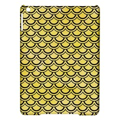 Scales2 Black Marble & Yellow Watercolor Ipad Air Hardshell Cases by trendistuff