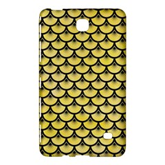 Scales3 Black Marble & Yellow Watercolor Samsung Galaxy Tab 4 (7 ) Hardshell Case  by trendistuff