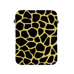 Skin1 Black Marble & Yellow Watercolor Apple Ipad 2/3/4 Protective Soft Cases by trendistuff